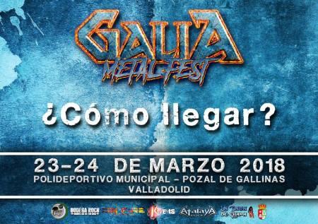 Galia Metal Fest - Como Llegar