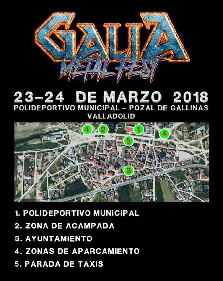 Galia Metal Fest - Plano Pozal de Gallinas