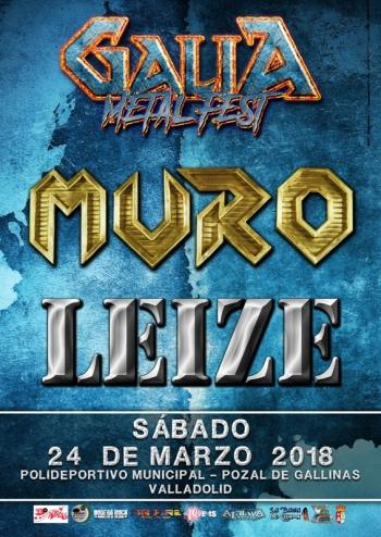 Galia Metal Fest 2018 - Muro y Leize