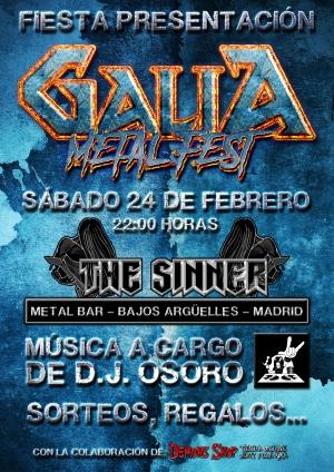 Galia Metal Fest - Fiesta en Madrid