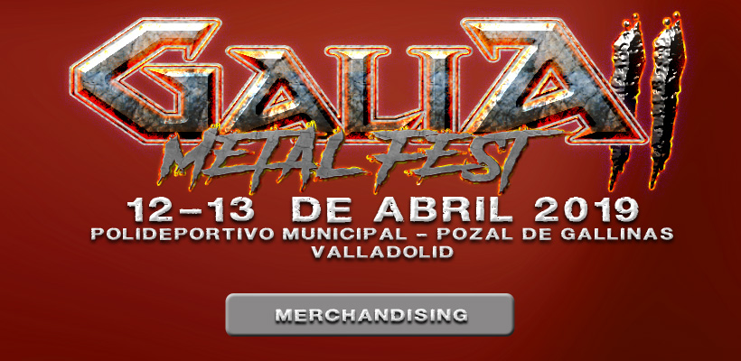 Galia Metal Fest - Merch